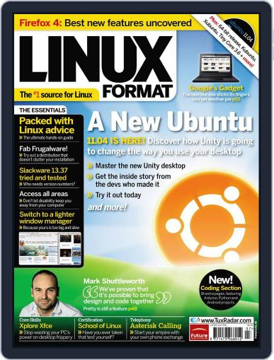 Linux Format (Digital) May 25th, 2011 Issue Cover