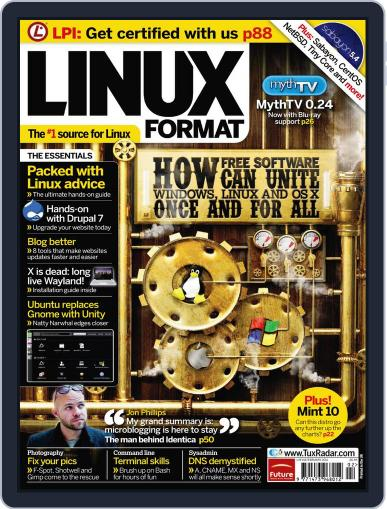 Linux Format January 5th, 2011 Digital Back Issue Cover