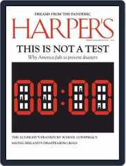 Harper's (Digital) Subscription July 1st, 2020 Issue