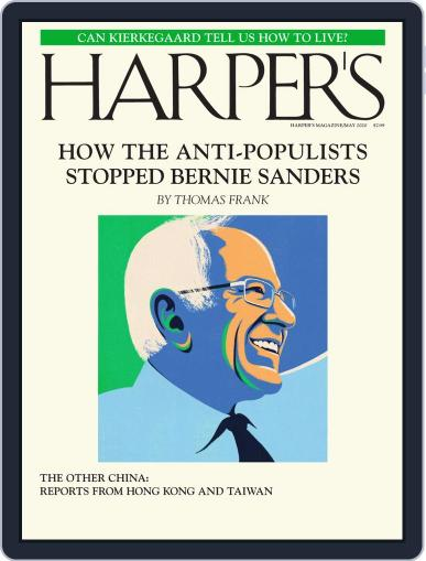 Harper's (Digital) May 1st, 2020 Issue Cover
