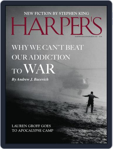 Harper's (Digital) March 1st, 2020 Issue Cover