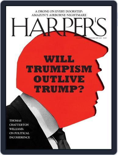 Harper's (Digital) February 1st, 2020 Issue Cover