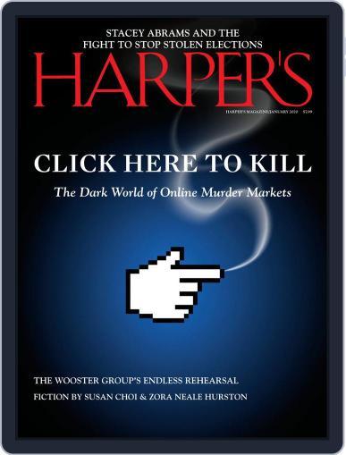 Harper's January 1st, 2020 Digital Back Issue Cover
