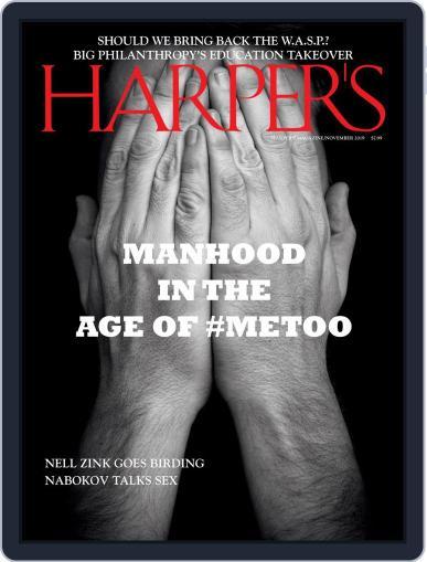 Harper's (Digital) November 1st, 2019 Issue Cover