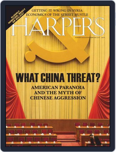 Harper's (Digital) February 1st, 2019 Issue Cover
