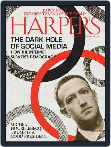 Harper's (Digital) January 1st, 2019 Issue Cover
