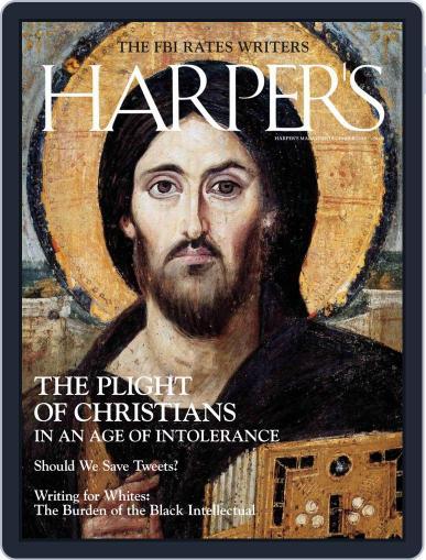 Harper's December 1st, 2018 Digital Back Issue Cover