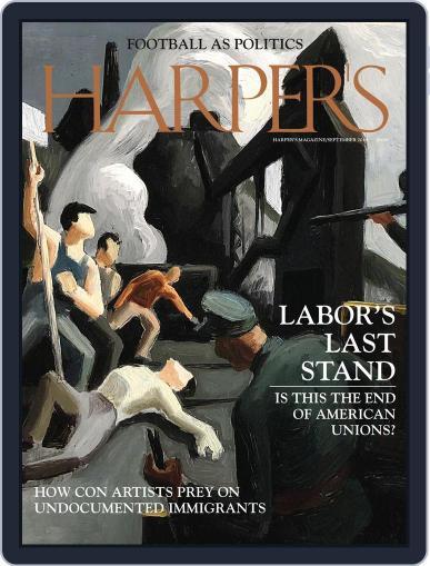 Harper's September 1st, 2018 Digital Back Issue Cover