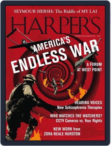 Harper's (Digital) June 1st, 2018 Issue Cover