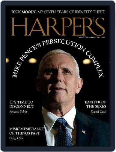 Harper's (Digital) May 1st, 2018 Issue Cover