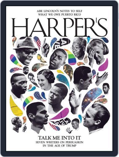 Harper's (Digital) February 1st, 2018 Issue Cover