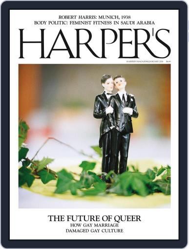 Harper's January 1st, 2018 Digital Back Issue Cover