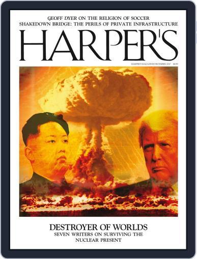 Harper's (Digital) December 1st, 2017 Issue Cover