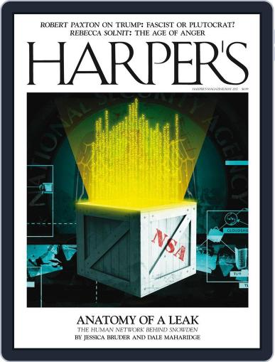 Harper's (Digital) May 1st, 2017 Issue Cover
