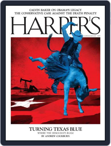 Harper's (Digital) March 1st, 2017 Issue Cover