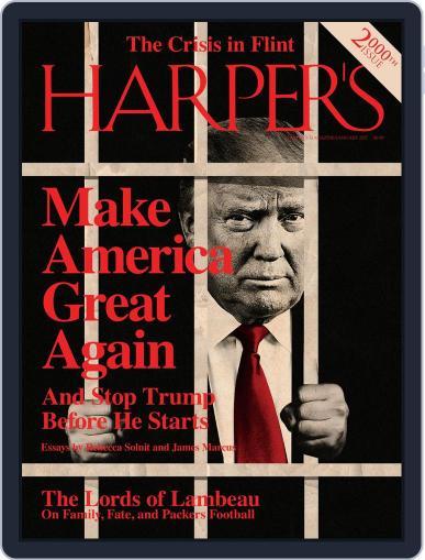 Harper's (Digital) January 1st, 2017 Issue Cover