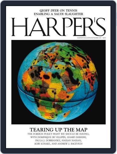 Harper's September 1st, 2016 Digital Back Issue Cover