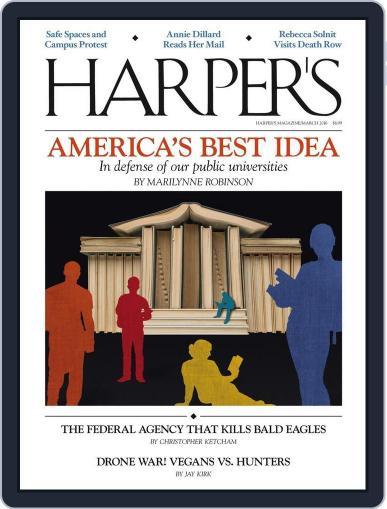 Harper's February 23rd, 2016 Digital Back Issue Cover