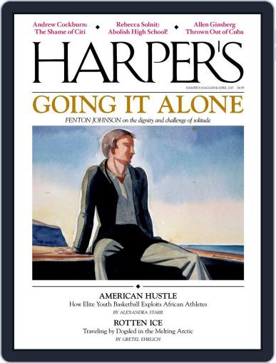 Harper's March 24th, 2015 Digital Back Issue Cover