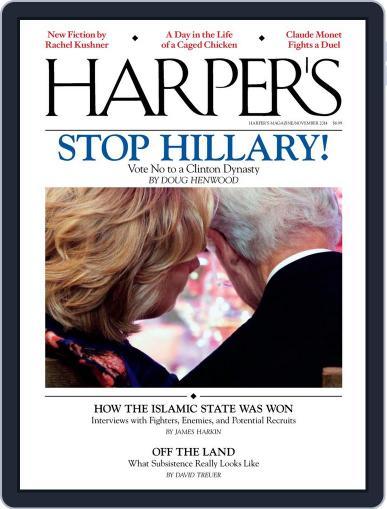 Harper's (Digital) October 28th, 2014 Issue Cover