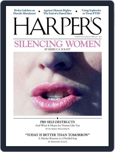 Harper's (Digital) September 23rd, 2014 Issue Cover