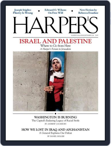 Harper's (Digital) August 26th, 2014 Issue Cover