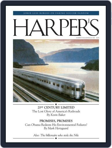 Harper's (Digital) June 24th, 2014 Issue Cover