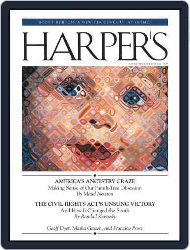 Harper's May 27th, 2014 Digital Back Issue Cover