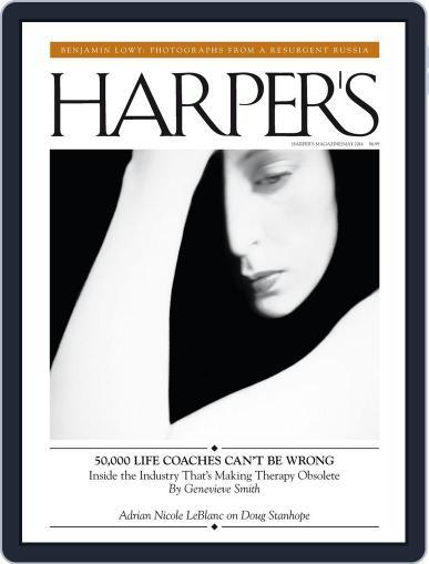 Harper's (Digital) April 22nd, 2014 Issue Cover