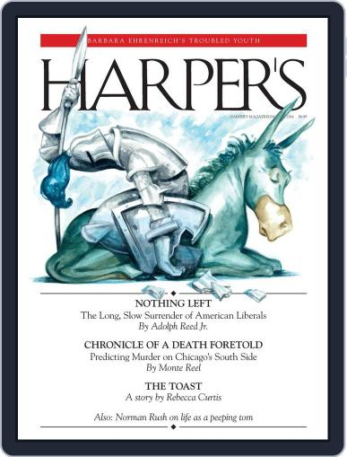 Harper's (Digital) February 26th, 2014 Issue Cover