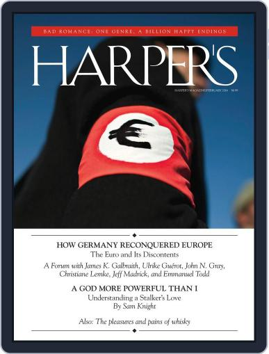 Harper's January 28th, 2014 Digital Back Issue Cover