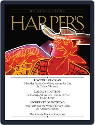 Harper's (Digital) November 26th, 2013 Issue Cover