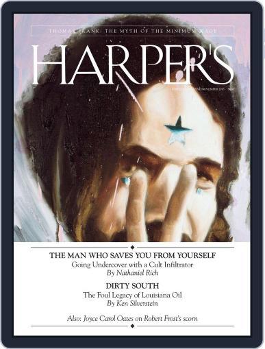 Harper's October 22nd, 2013 Digital Back Issue Cover