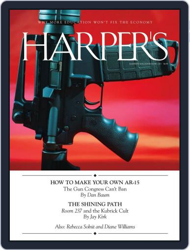 Harper's May 28th, 2013 Digital Back Issue Cover