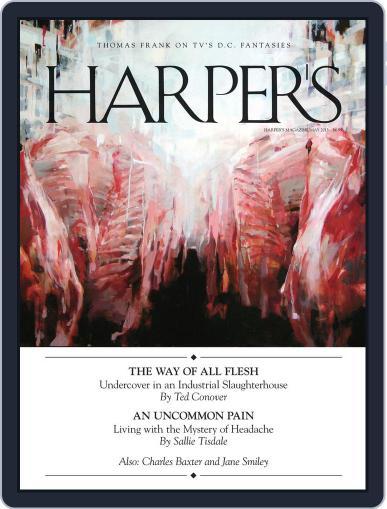 Harper's (Digital) April 23rd, 2013 Issue Cover
