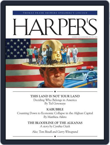 Harper's January 22nd, 2013 Digital Back Issue Cover