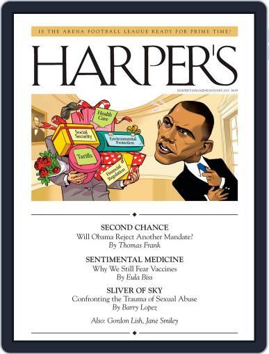 Harper's December 25th, 2012 Digital Back Issue Cover