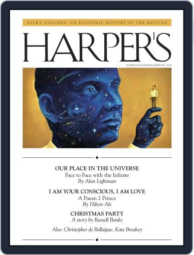Harper's November 28th, 2012 Digital Back Issue Cover