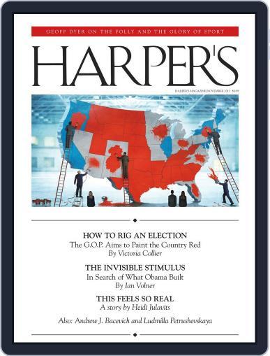 Harper's (Digital) October 23rd, 2012 Issue Cover