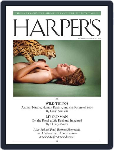 Harper's May 22nd, 2012 Digital Back Issue Cover