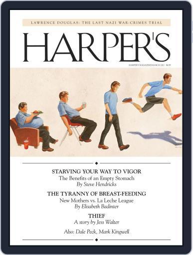 Harper's (Digital) February 28th, 2012 Issue Cover