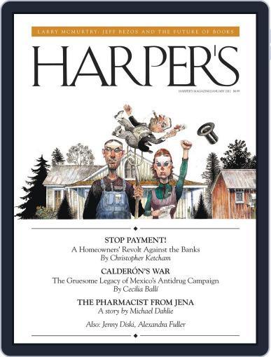 Harper's (Digital) December 27th, 2011 Issue Cover