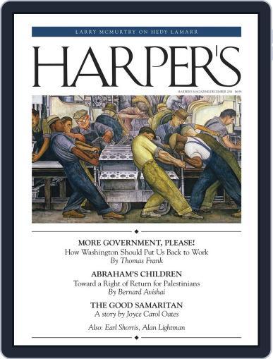 Harper's (Digital) November 22nd, 2011 Issue Cover