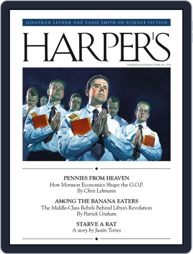 Harper's (Digital) September 27th, 2011 Issue Cover