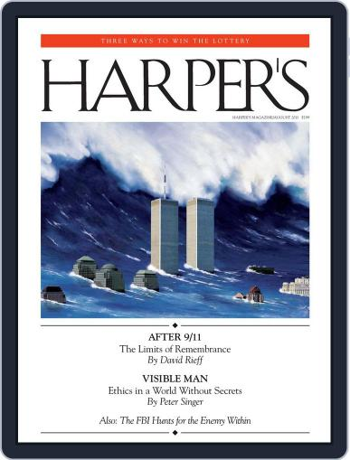 Harper's (Digital) July 26th, 2011 Issue Cover