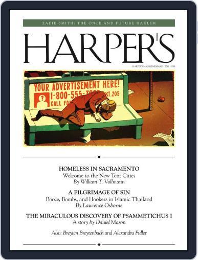 Harper's February 22nd, 2011 Digital Back Issue Cover