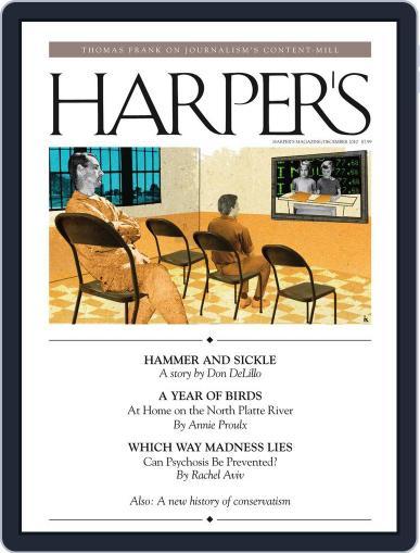 Harper's December 1st, 2010 Digital Back Issue Cover
