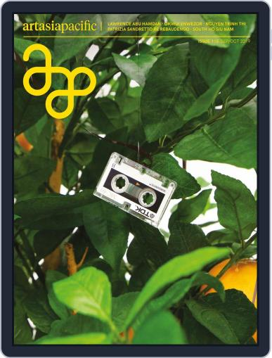 ArtAsiaPacific September 1st, 2019 Digital Back Issue Cover
