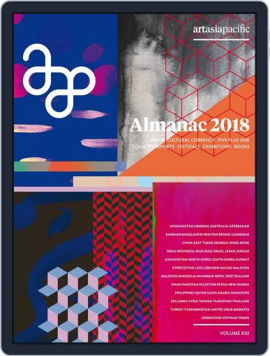 ArtAsiaPacific December 20th, 2017 Digital Back Issue Cover