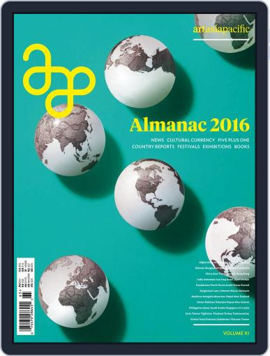 ArtAsiaPacific December 1st, 2016 Digital Back Issue Cover